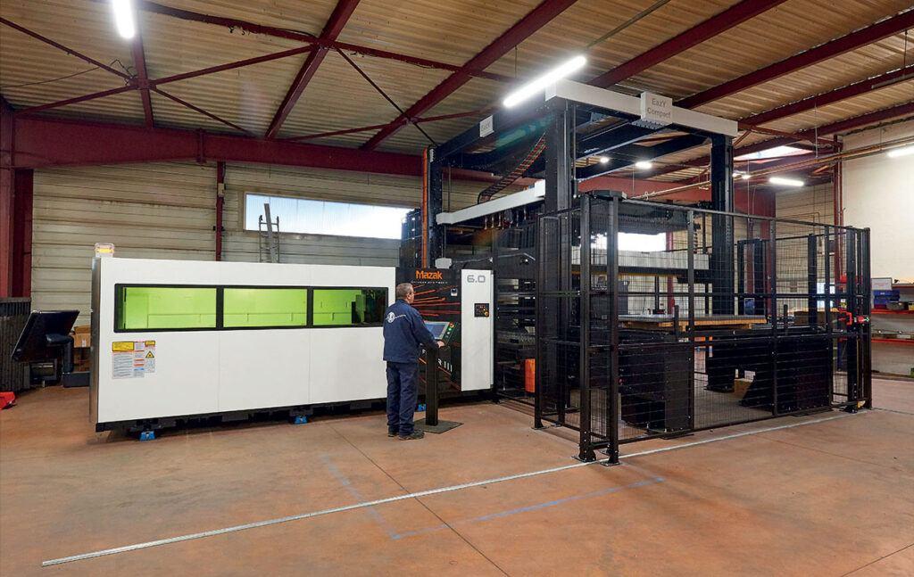 Machine découpe laser fibre MAZAK
